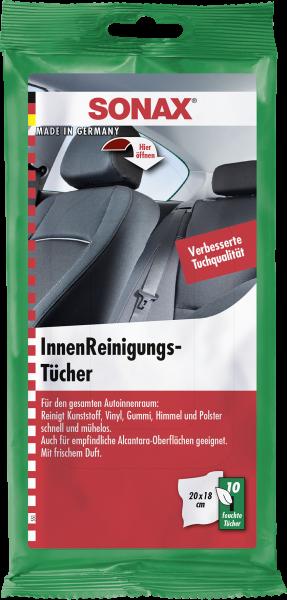 SONAX InnenReinigungsTücher 10 Stk.
