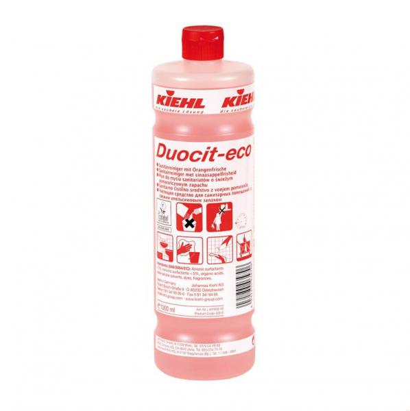 Kiehl Duocit eco 1l /10l Sanitärreiniger
