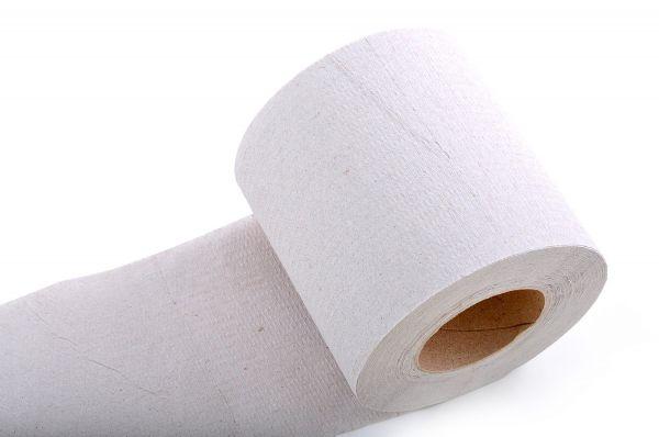 Toilettenpapier 8 Rollen 1-lagig 400 Blatt Recycling