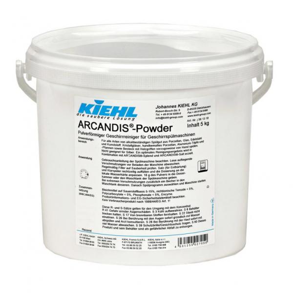 Kiehl ARCANDIS Powder 5kg Geschirrreiniger