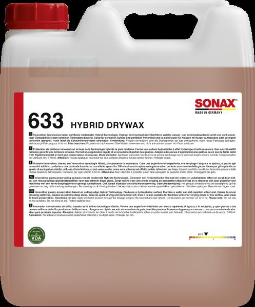 SONAX Hybrid DryWax 10l