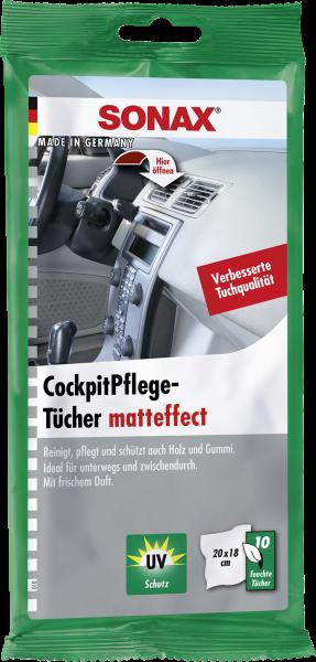 SONAX CockpitPflegeTücher Matteffect 10 Stk.