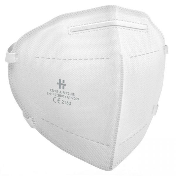 FFP2 Atemschutzmaske CE2163 zertifiziert mit Kopfschlaufe - 10er Pack