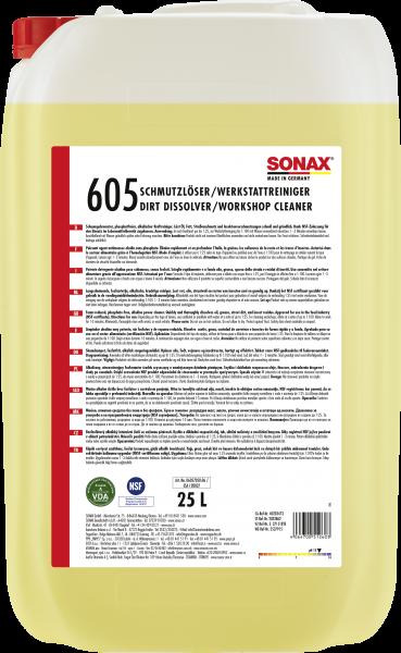 SONAX SchmutzLöser/WerkstattReiniger 25l
