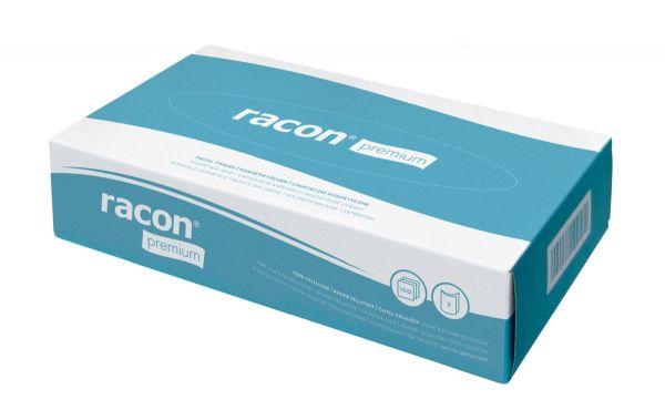 Racon premium Kosmetiktücher, Zellstoff, hochweiß, 4000 Stück