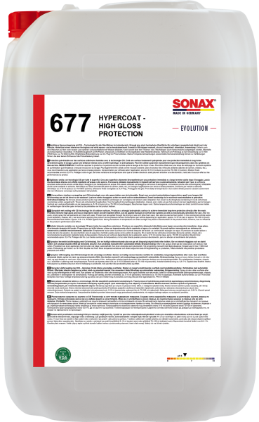 SONAX HyperCoat High Gloss Protection -EVOLUTION- 25l