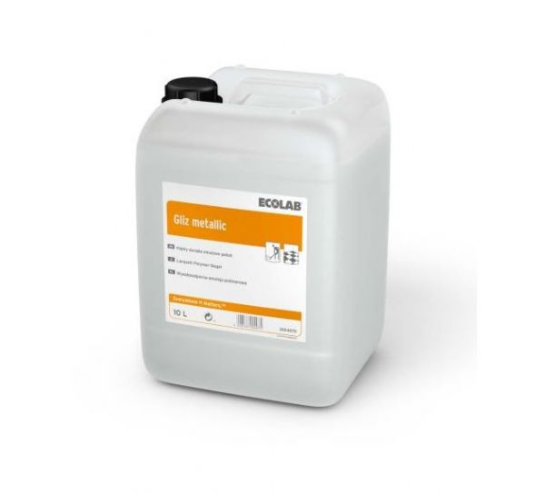Ecolab Gliz metallic 10l Polymerversiegelung