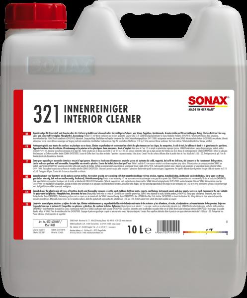 SONAX InnenReiniger 10l