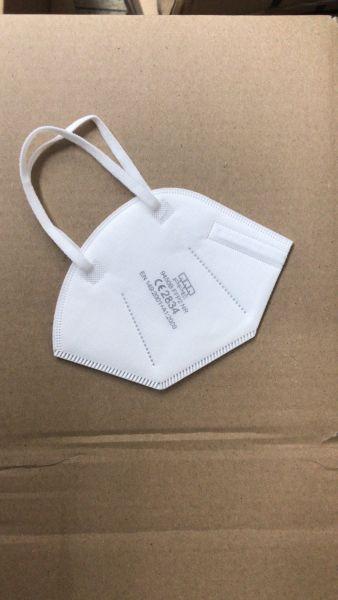 FFP2 NR Atemschutzmaske CE2834 - einzeln verpackt