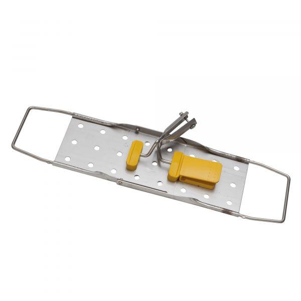 Vermop Sprint Halter, Edelstahl 50 cm, gelb
