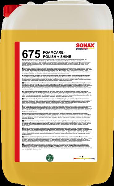SONAX FoamCare Polish+Shine 25l