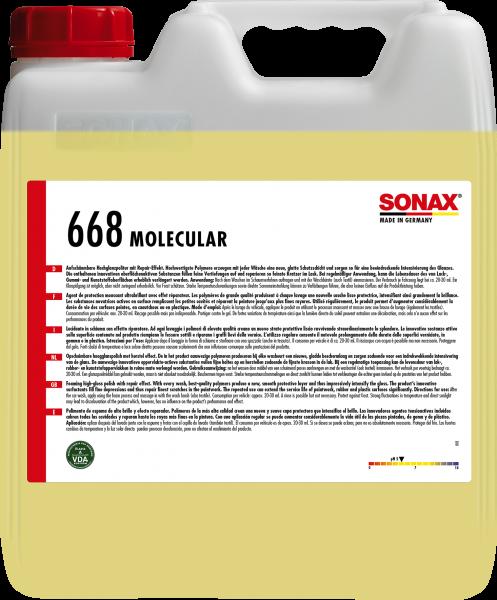 SONAX Molecular GlanzkonservierungsSchaum 10l