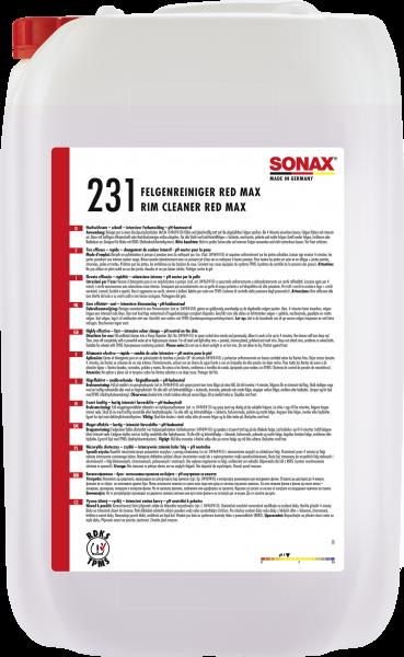 SONAX FelgenReiniger Red Max 25l