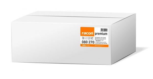 Racon premium Falthandtücher, W-Falz, 21,6 x 27cm, 2-lagig, hochweiß, 3060 Stück