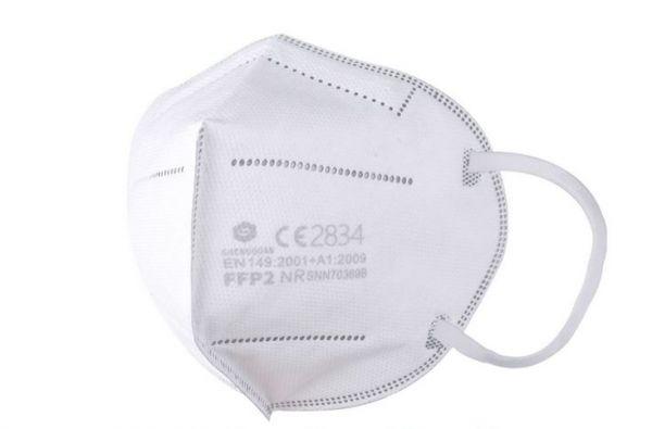 FFP2 Atemschutzmaske für den MEDIZINISCHEN Bereich CE2834 zertifiziert - einzeln verpackt