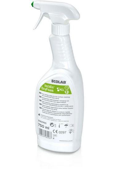 Ecolab Incidin OxyFoam 750ml Flächendesinfektion