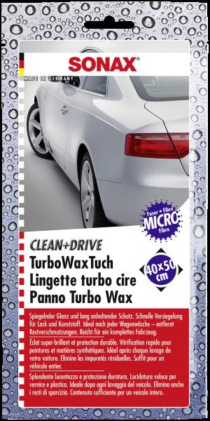 SONAX Clean+Drive TurboWaxTuch 40x50 Thekendisplay 1 Stk.