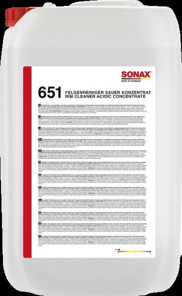 SONAX FelgenReiniger sauer Konzentrat 25l