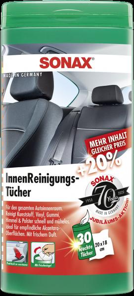 SONAX InnenReinigungsTücher Box 25 Stk.