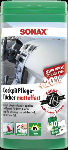 SONAX CockpitPflegeTücher Matteffect 25 Stk./Box