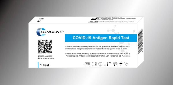 CLUNGENE Laien-Test COVID-19 (SARS-Cov-19) Antigen Schnelltest - 1er Pack