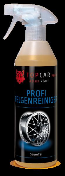 TOP CAR Felgenreiniger säurefrei 500ml Sprühflasche
