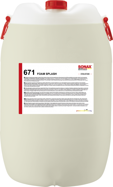 SONAX FoamSplash -EVOLUTION- 60l