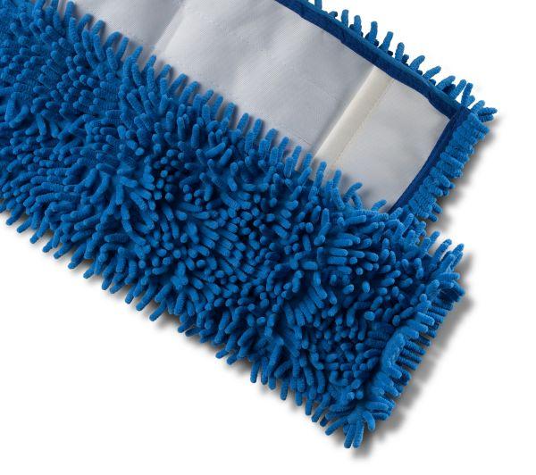 Microfasermopp CHENILLE rot/blau 40cm / 50cm