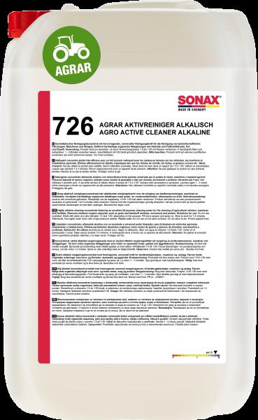 SONAX AGRAR AktivReiniger alkalisch 25l