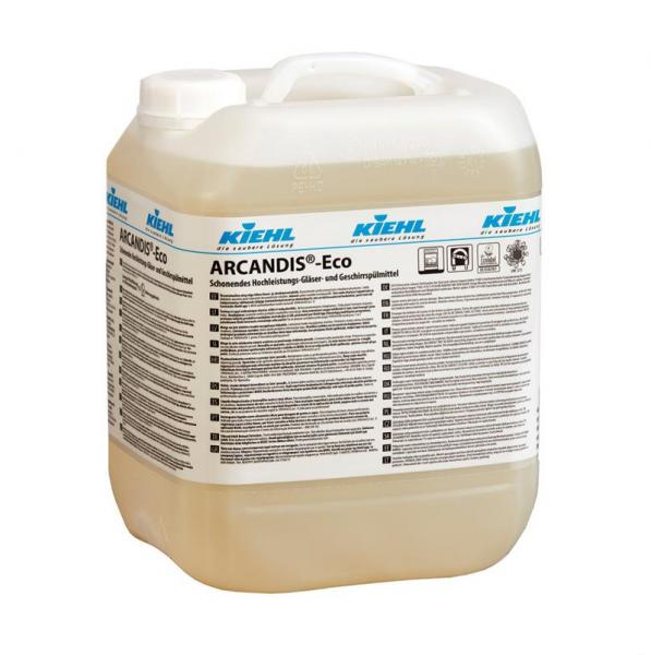 Kiehl ARCANDIS Eco 10l / 20l Gläser und Geschirrspülmittel