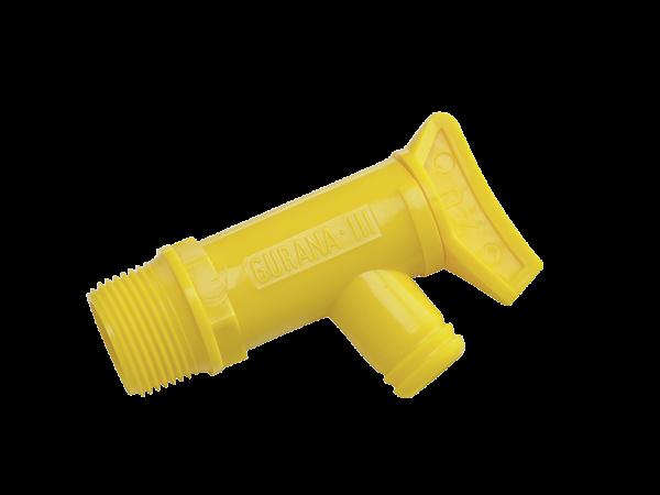 SONAX KunststoffAblasshahn für 60 Liter und 200 Liter Blechfässer