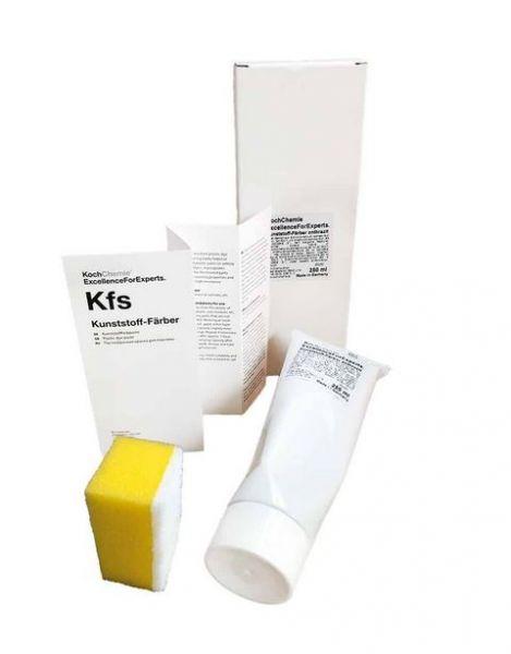 Koch Chemie Kunststoff-Färber schwarz 250ml Tube