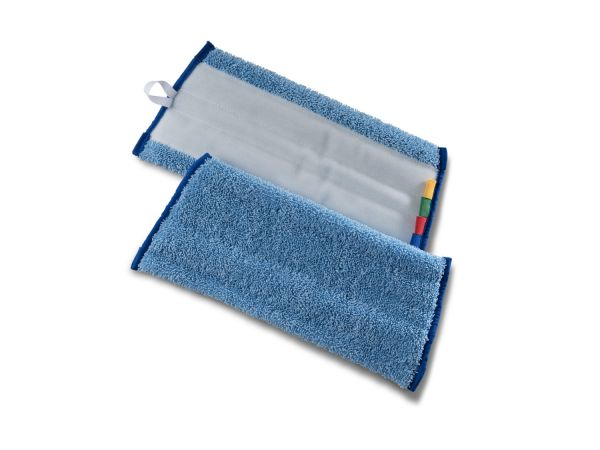 Microfaser Klettmopp SPEED blau/rot
