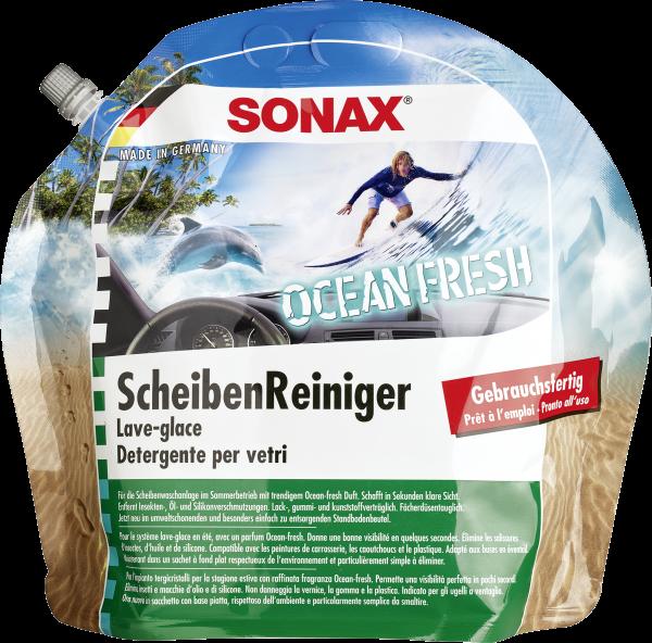 SONAX ScheibenReiniger gebrauchsfertig Ocean-fresh 3l