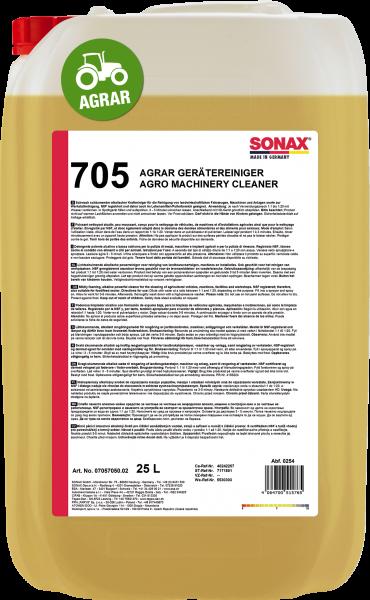 SONAX AGRAR GeräteReiniger 25l