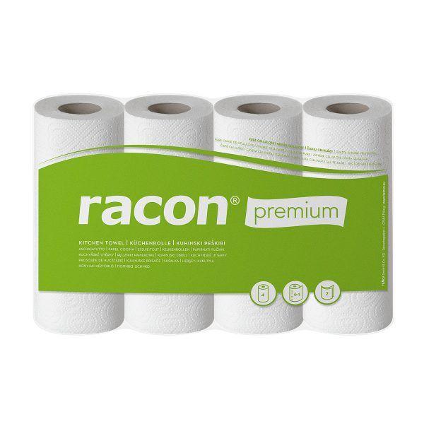 Racon premium Küchenrolle 48 Rollen 64 Blatt 2-lagig
