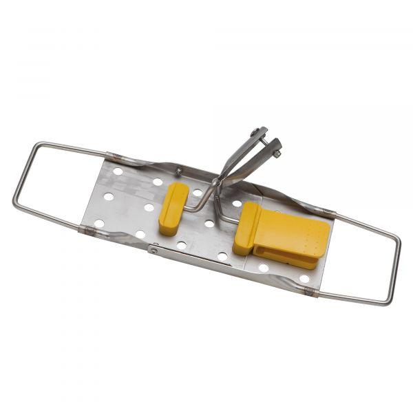 Vermop Sprint Halter, Edelstahl 40 cm, gelb