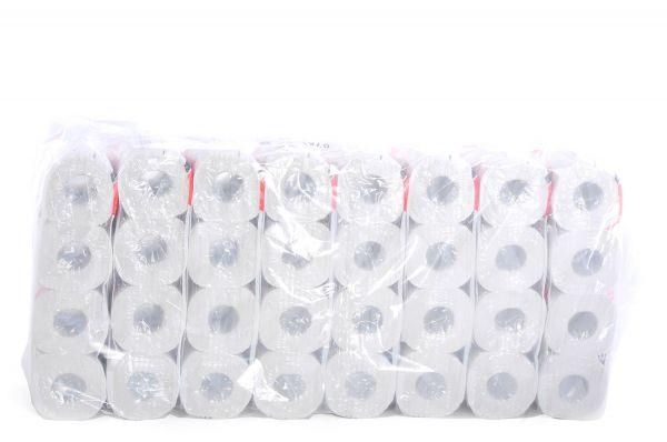 Toilettenpapier 64 Rollen 250 Blatt 2-lg weiß