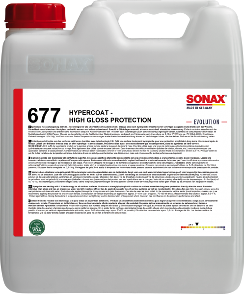 SONAX HyperCoat High Gloss Protection -EVOLUTION- 10l