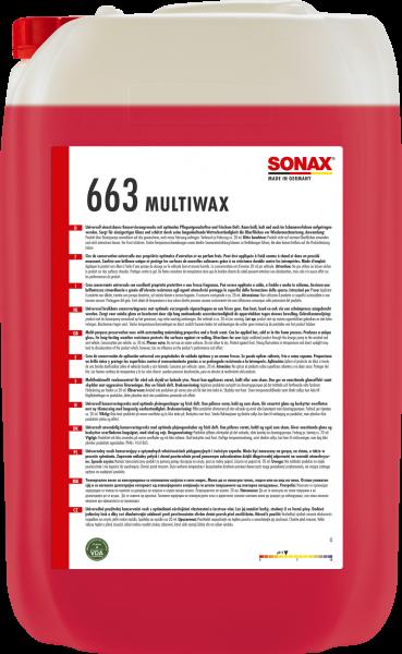 SONAX MultiWax 25l