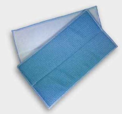 Microfaserpad blau 27 x 13cm
