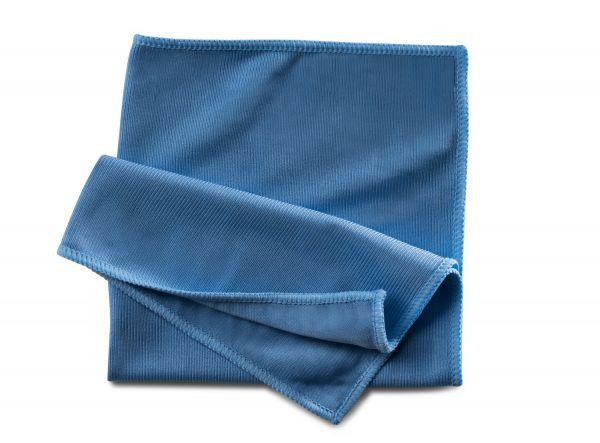 Microfaser Fenstertuch blau 40x40cm