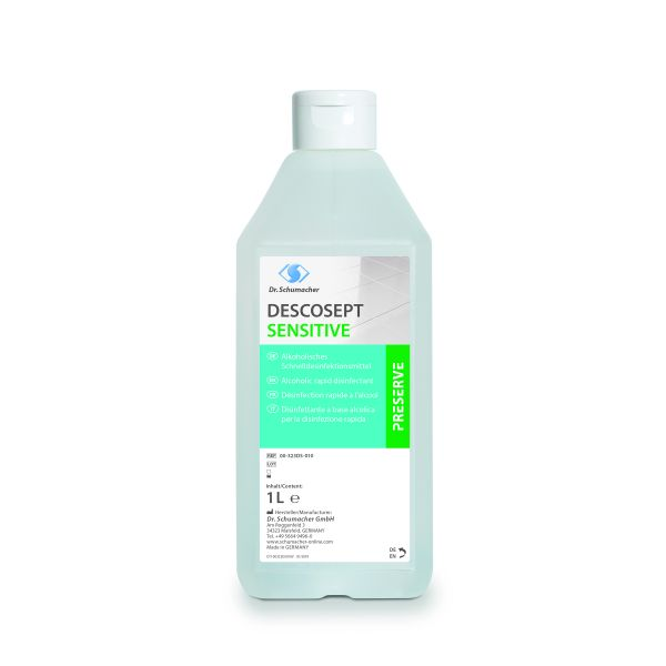Dr. Schumacher DESCOSEPT SENSITIVE 1l Schnelldesinfektion