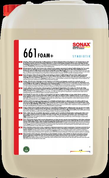 SONAX Foam+SYMBIOTIK 25l