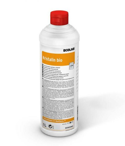 Ecolab Kristalin bio 1l Sanitärreiniger Geruchsvernichter