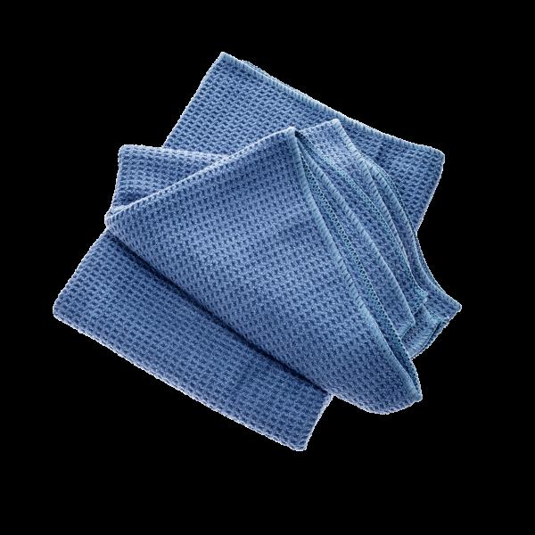Koch Chemie Microfaser-Waffeltuch blau, Set à 2 Stück