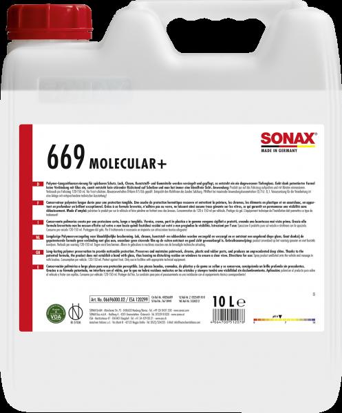 SONAX Molecular+ mit IntelliWash 10l