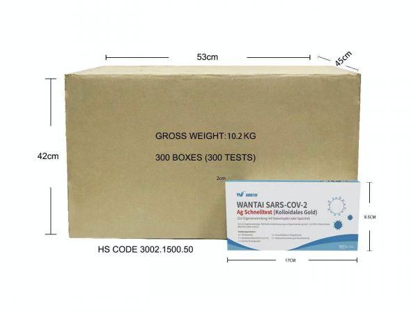 Wantai Laien-Test COVID-19 (SARS-Cov-19) Antigen 2-in-1 Schnelltest - 1er Pack